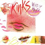 Kinks Word Of Mouth Translucent Pink & White Swirl Vinyl