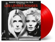 Les Levres Rouges (daughters Of Darkness) Soundtrack Francois De Roubaix (transparent Red Colored Vinyl 2 Songs From Cult Classic Soundtrack Limited Numbered To 2500 Indie Exclusive) Rsd 2019 Exclusive
