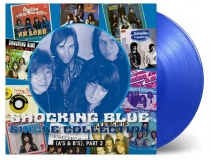 Shocking Blue Single Collection (a's & B's) Part 2 Transparent Blue 180 Gram Vinyl New Compilation Includes ''love Buzz '' A Fan Treat Gatefold Ltd Numb. To 2000 Indie Exclusive Rsd 2019 Exclusive
