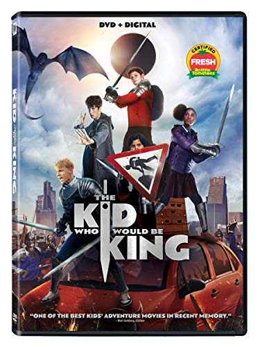 The Kid Who Would Be King Serkis Stewart Ferguson DVD Dc Pg