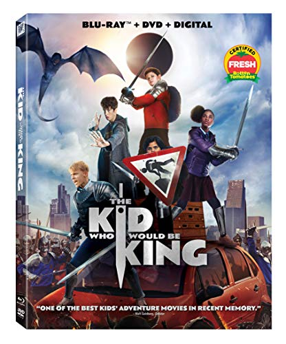 The Kid Who Would Be King Serkis Stewart Ferguson Blu Ray DVD Dc Pg