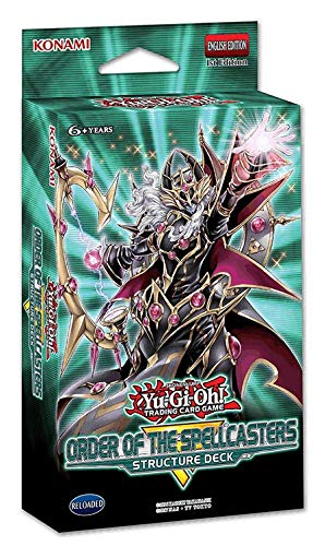 Yu Gi Oh Cards Order Of The Spellcasters Structure Deck