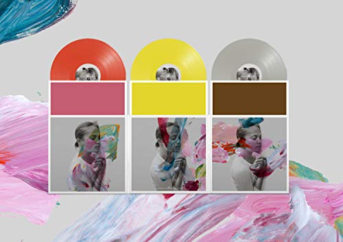 The National I Am Easy To Find (deluxe) Deluxe 3xlp Red Green Grey Vinyl