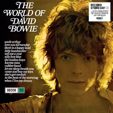 David Bowie The World Of David Bowie (compilation) Blue Vinyl Rsd 2019 Ltd. To 3500