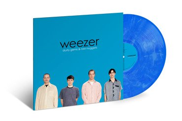 Weezer Dusty Gems & Raw Nuggets Translucent Blue & White Marble Vinyl Rsd 2019 Ltd. To 4000
