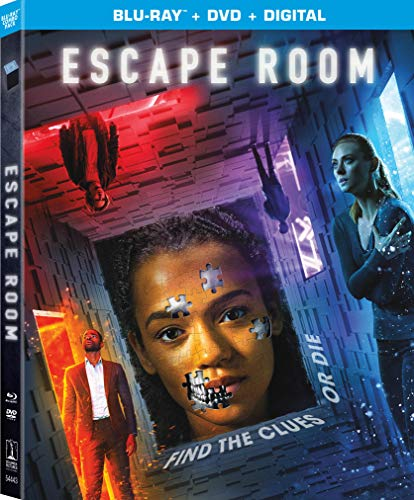 Escape Room Russell Miller Blu Ray DVD Dc Pg13