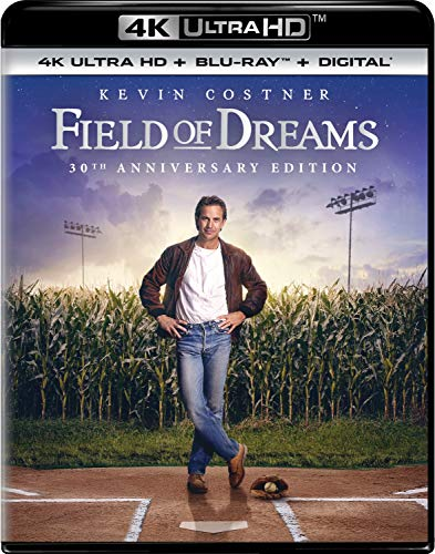Field Of Dreams Costner Liotta Jones 4khd Pg 30th Anniversary
