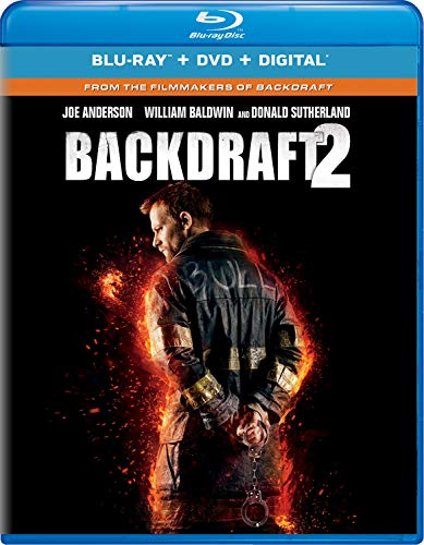 Backdraft 2 Baldwin Sutherland Anderson Blu Ray DVD Dc R