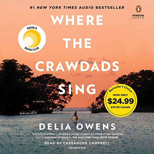 Delia Owens Where The Crawdads Sing Read By Cassandra Campbell