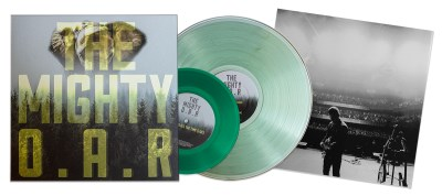 "O.A.R. The Mighty 180g Vinyl Coke Bottle Green Lp Clear Green 7"" Vinyl"