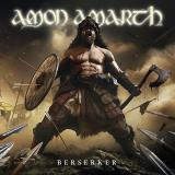 Amon Amarth Berserker (white Silver Vinyl) Haze White Base With Silver Inside Colored Vinyl Ltd To 500