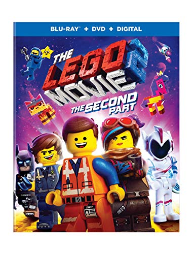 Lego Movie 2 The Second Part Lego Movie 2 The Second Part Blu Ray DVD Dc Pg