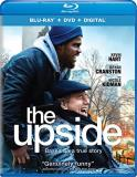 The Upside Hart Cranston Blu Ray DVD Dc Pg13