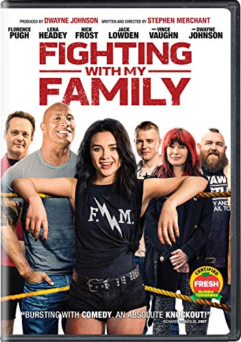Fighting With My Family Pugh Johnson Headey Vaughn DVD Pg13