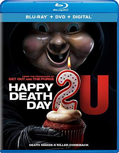 Happy Death Day 2u Rothe Broussard Blu Ray DVD Dc Pg13