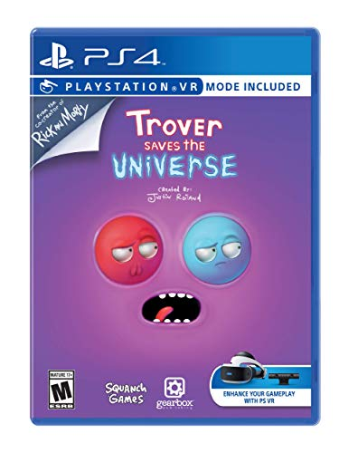 Ps4 Trover Saves The Universe