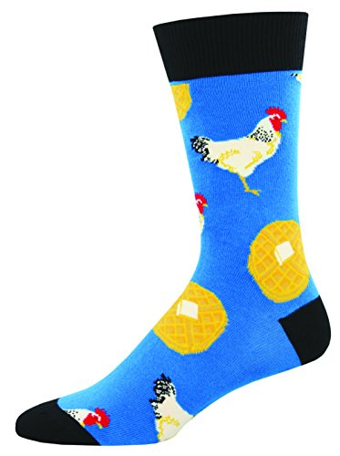 Socks Mens Crew Chicken And Waffles