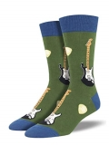 Socks Mens Crew Electric Guitars