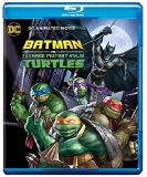 Batman Vs. Teenage Mutant Ninja Turtles Batman Vs. Teenage Mutant Ninja Turtles Blu Ray DVD Dc Pg13