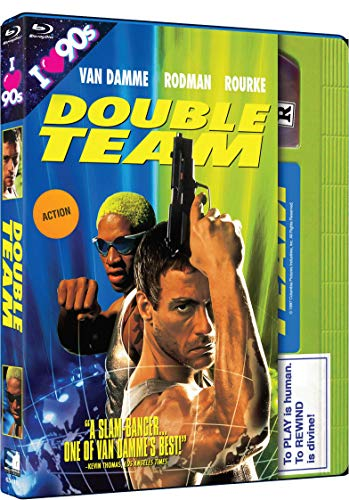 Double Team Van Damme Rodman Blu Ray R