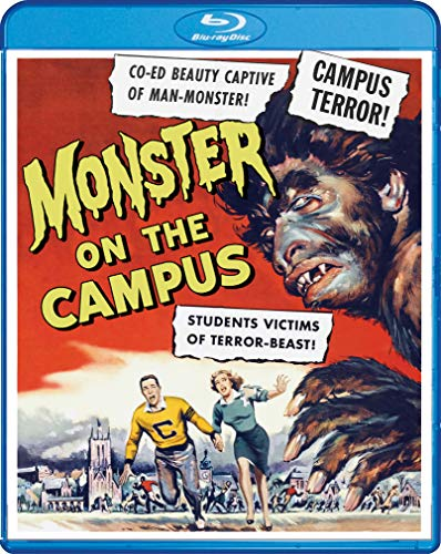 Monster On The Campus Franz Moore Blu Ray Nr