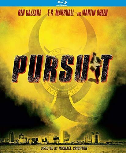 Pursuit (1972) Gazzara Marshall Sheen Blu Ray Nr