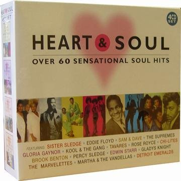 Heart & Soul Over 60 Sensational Soul Hits 4 CD Se