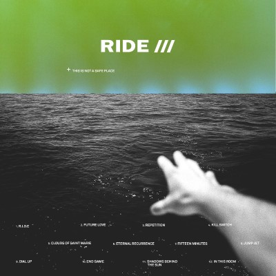Ride This Is Not A Safe Place (clear Vinyl With Green Blue Splatter) 2lp Clear Vinyl With Green Blue Splatter + Download Card