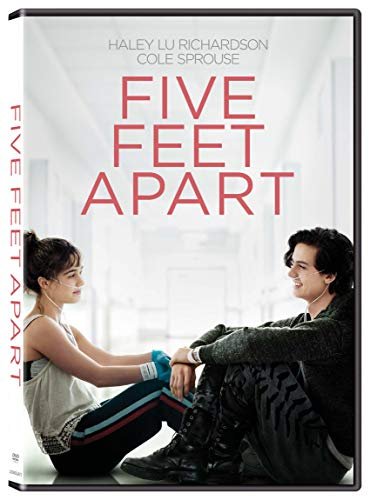 Five Feet Apart Richardson Sprouse DVD Pg13