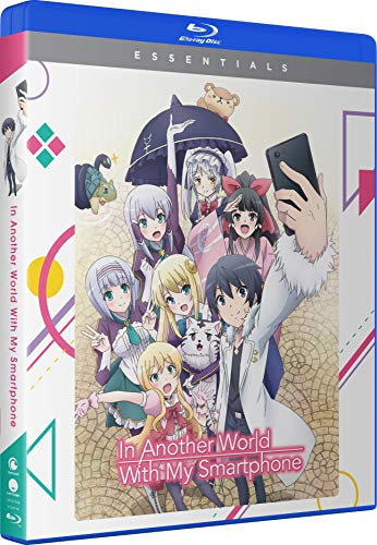 In Another World With My Smartphone The Complete Series Blu Ray Dc Nr