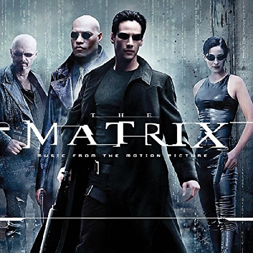 "The Matrix Music From The Original Motion Picture Soundtrack Soundtrack (limited Red & Black ""squiddy"" Vinyl Edition) 2lp Ltd To 420 Copies"