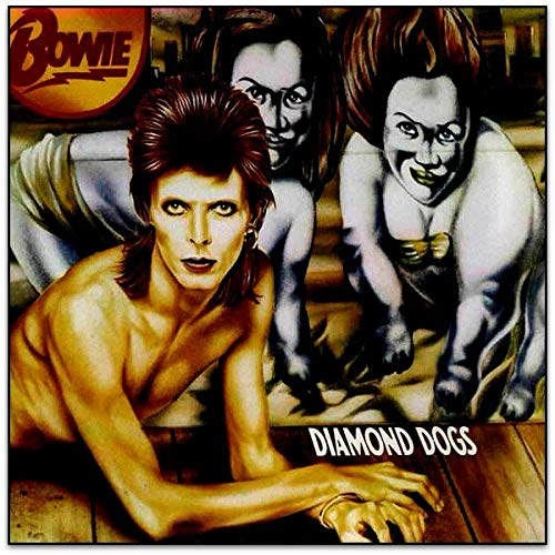 David Bowie Diamond Dogs (red Vinyl) Brick & Mortar Exclusive