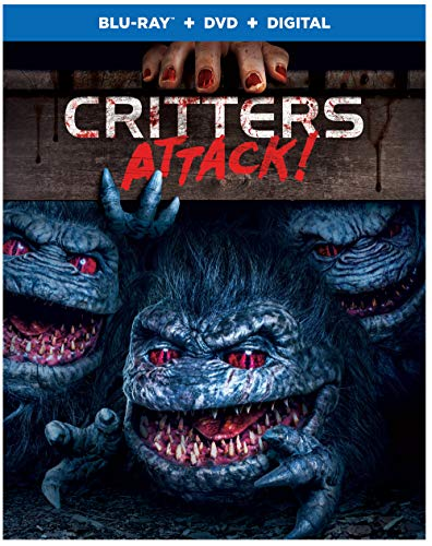 Critters Attack Washington Wallace Noel Blu Ray DVD Dc R