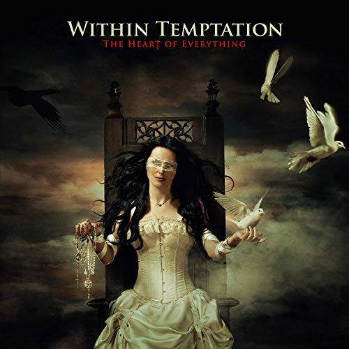 Within Temptation Heart Of Everything Gold & Black Swirled Vinyl