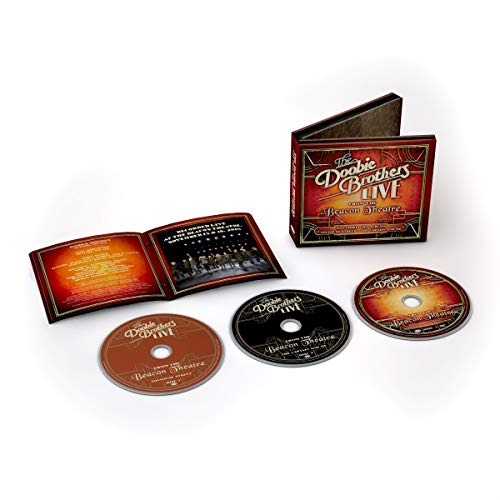 The Doobie Brothers Live From The Beacon Theatre 2 CD 1 DVD