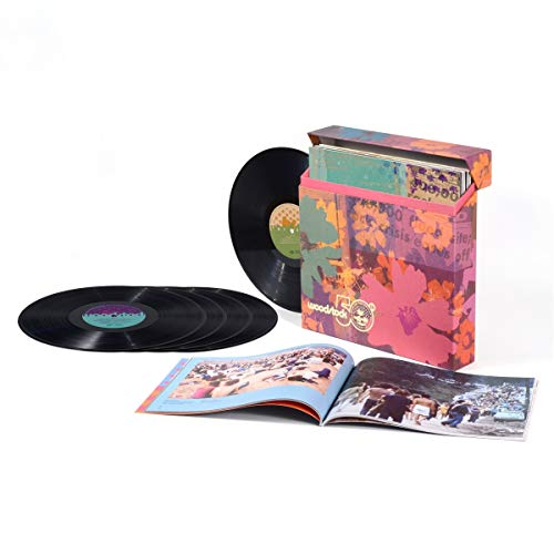 Woodstock 3 Days Of Peace Music Woodstock Back To The Garden 50th Anniversary 5lp