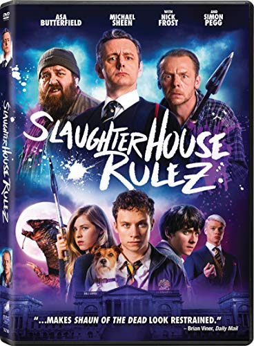 Slaughterhouse Rulez Butterfield Cole Corfield Frost Pegg DVD R