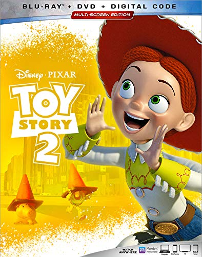 Toy Story 2 Disney Blu Ray DVD Dc G