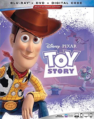 Toy Story Disney Blu Ray DVD Dc G