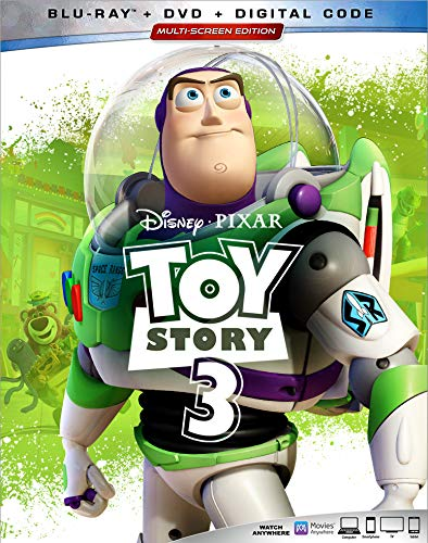 Toy Story 3 Disney Blu Ray DVD Dc G