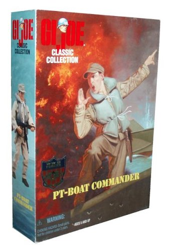 "G.I. Joe Pt Boat Commander 12"" Action Figure"
