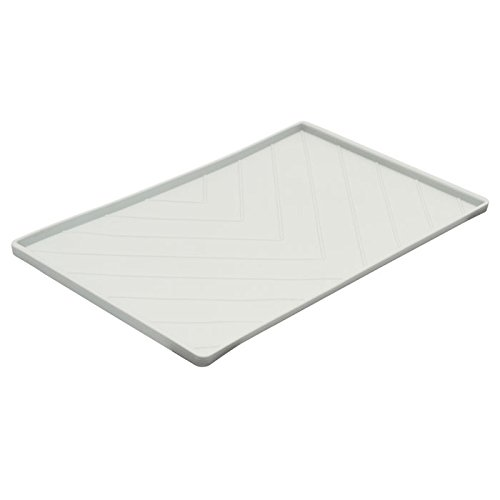 messy-mutts-silicone-food-mat-with-metal-sides-light-gray