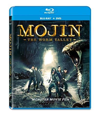 Mojin Worm Valley Mojin Worm Valley Blu Ray DVD Nr