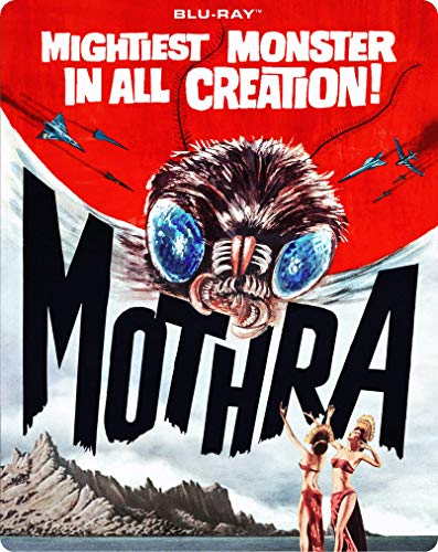 Mothra Mothra Blu Ray Steelbook