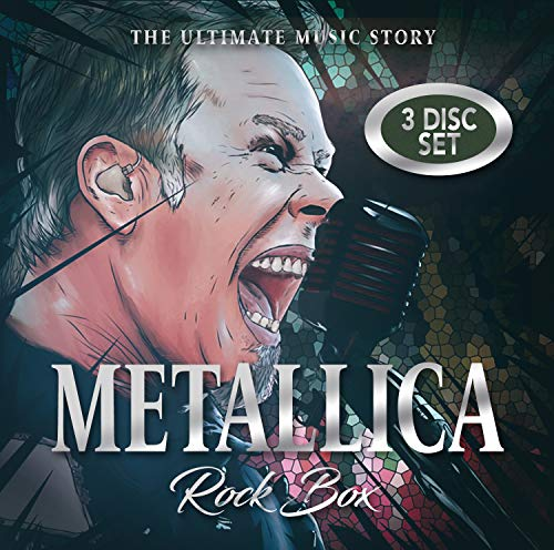Metallica Rock Box The Music Story 2 CD DVD