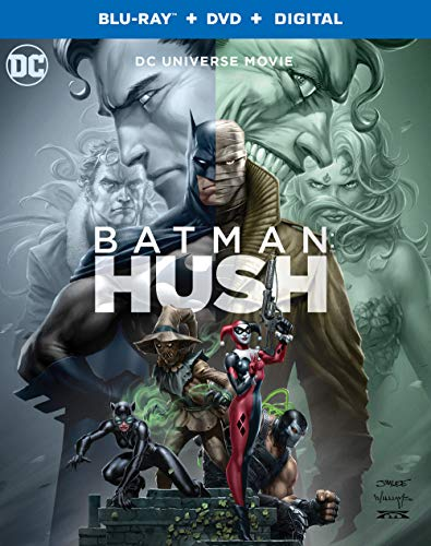 Batman Hush Batman Hush Blu Ray DVD Dc Nr