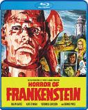 Horror Of Frankenstein Bates O'mara Carlson Price Blu Ray Nr