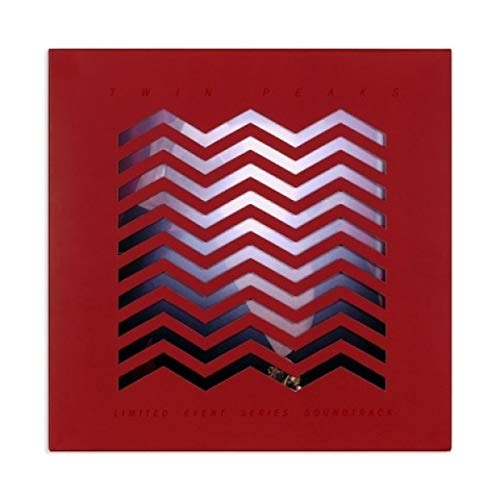 Twin Peaks Limited Event Series Soundtrack(cherry Pie Splatter & Machine Room Grey) Angelo Badalamenti 2lp 180g Vinyl