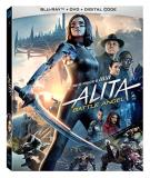 Alita Battle Angel Salazar Waltz Blu Ray DVD Dc Pg13