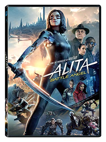 Alita Battle Angel Salazar Waltz DVD Pg13